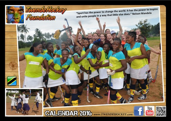 TwendeHockey Calendar COVER